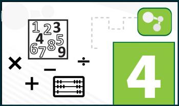 Conmutar o asociar con la suma y la multiplicación